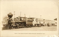 Early Type Train at Smith Creek Station