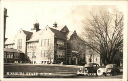 Missouri State School Postcard