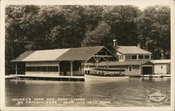 Downey's Dock and Boat Livery, Rainbow Lake