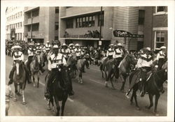 Parade on Horseback
