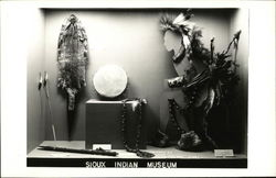 Sioux Indian Museum Exhibit