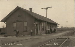 N.Y.C.R.R. Station, American Express Co.