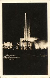 California Pacific International Exposition at Night