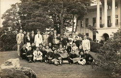 Snapshot of Group of Americans and Japanese Students