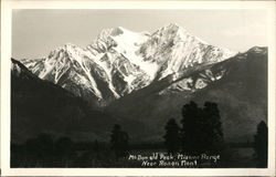 McDonald Peak, Mission Range
