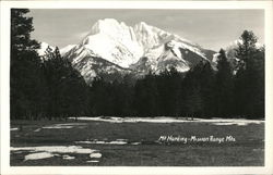 Mt. Harding, Mission Range Mountains