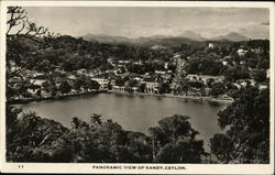 Panoramic View of Kandy