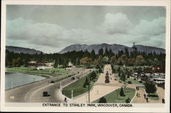 Entrance to Stanley Park