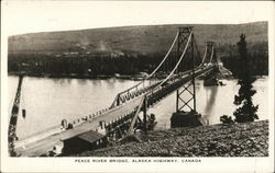Peace River Bridge, Alaska Highway
