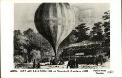 Hot Air Ballooning at Vauxhall Gardens