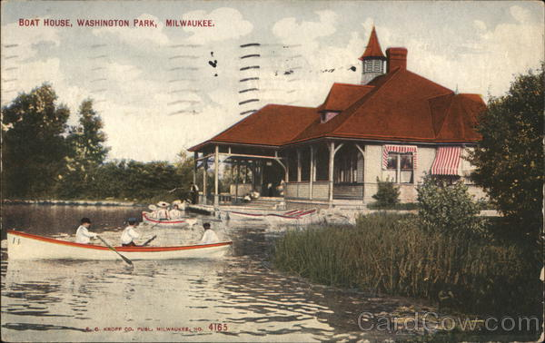 Boat House, Washington Park Milwaukee Wisconsin