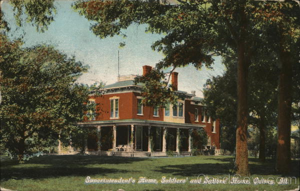 Superintendent's Home, Soldiers' and Salors' Home Quincy Illinois