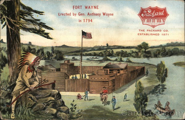 View of Fort Wayne Indiana