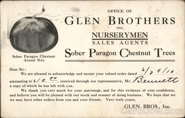 Office of Glen Brothers Inc. Advertising