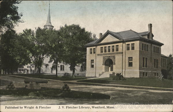 J.V. Fletcher Library Westford Massachusetts