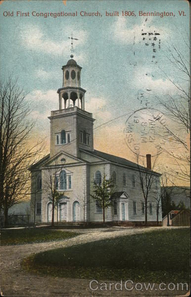 Old First Congregational Church Bennington Vermont