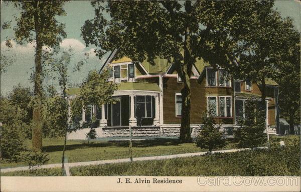 J.E. Alvin Residence Miscellaneous