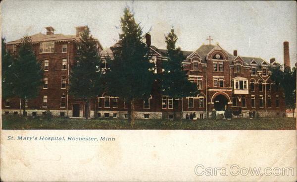 St. Mary's Hospital Rochester Minnesota