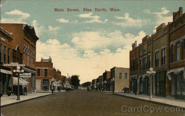 Main Street Blue Earth Minnesota