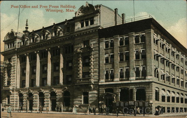 Post Office and Free Press Building Winnipeg Canada