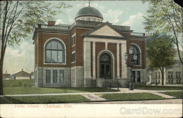 Public Library Chatham Canada Ontario