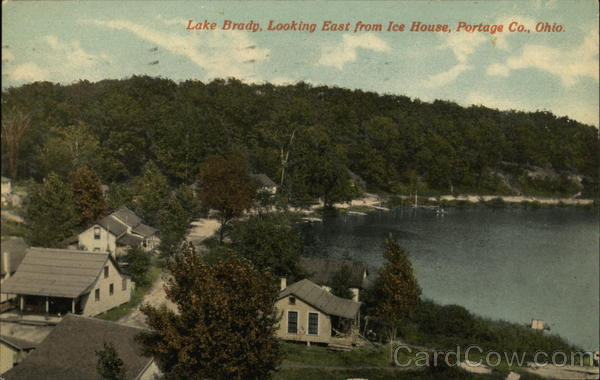 Lake Brady, Looking East From Ice House Ohio