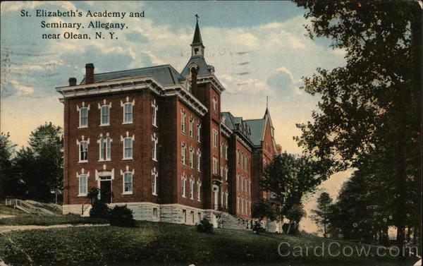 St. Elizabeth's Academy and Seminary, Allegany Olean New York