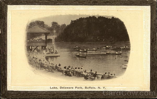 Lake at Delaware Park Buffalo New York