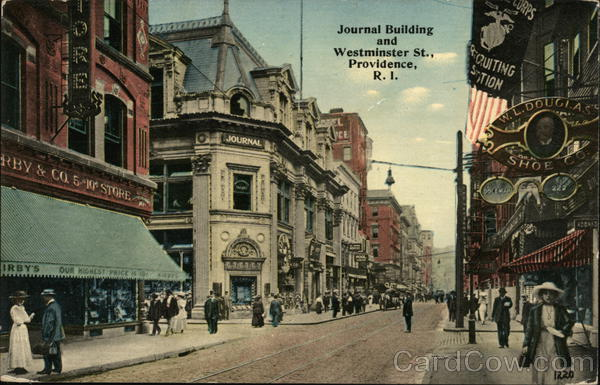 Journal Building and Westminster St. Providence Rhode Island