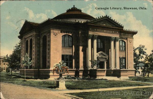 Carnegie Library Shawnee Oklahoma