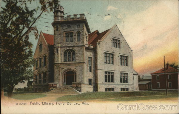 Public Library Fond du Lac Wisconsin