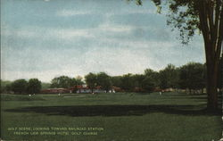 Golf Scene, Looking Toward Railroad Station