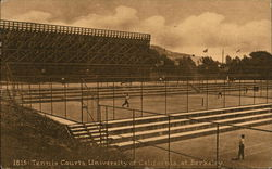 Tennis Courts, University of California at Berkeley