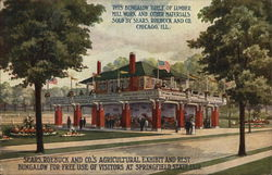 Sears, Roebuck and Co.'s Agricultural Exhibit and Rest Bungalow