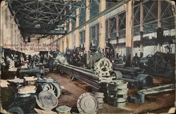 Interior View of the Manistee iron Works