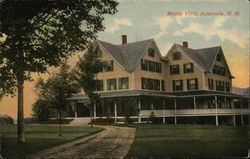 Maple Villa Postcard