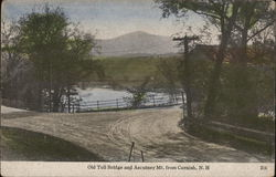 Old Toll bridge and Ascutney Mt.