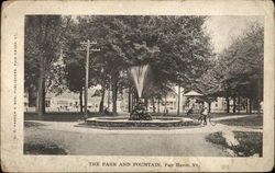 The park and Fountain