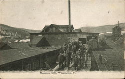 Mountain Mills Wilmington, VT Postcard
