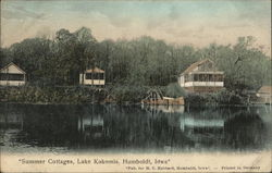 Summer Cottages, Lake Kokomis Postcard