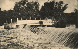 The Dam in West River Postcard