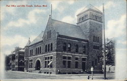 Post Office and Elks Temple