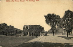 Old Round Tower Postcard