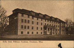 Kelly Hall, Pillsbury Academy Postcard