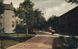 Boulevard and Entrance to Soldiers Home
