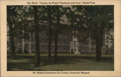 Dr. Nichols Sanatorium For Cancer