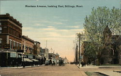 Montana Avenue, Looking East