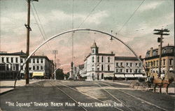The Square Towards North Main Street