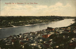 Maysville & Aberdeen on Ohio River Kentucky Postcard