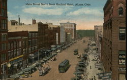 Main Street North from Buchtel Hotel